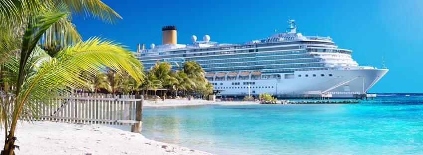 Cruise near the beach