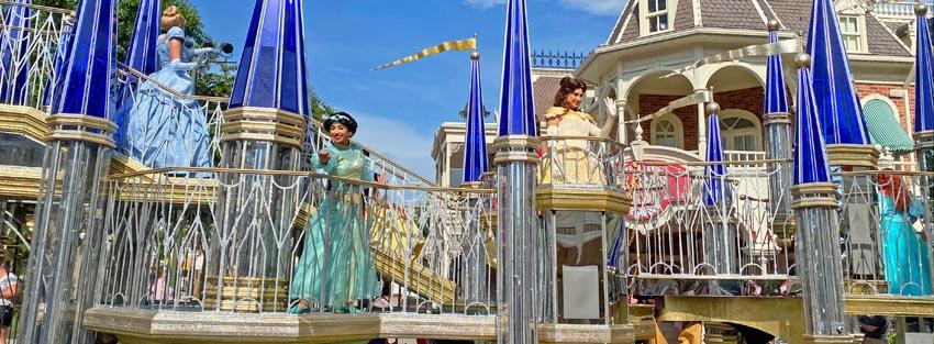 Disney Princess Cavalcade