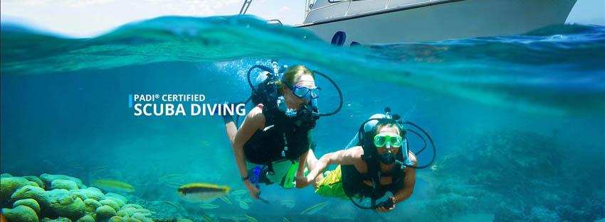 PADI Certified Scuba Diving