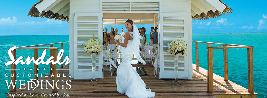 Plan Your Weddings At Sandals